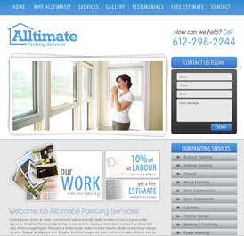 Alltimate - Design and WordPress Build